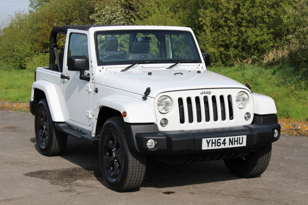 used Jeep Wrangler 2.8 CRD OVERLAND Convertible in Hampshire