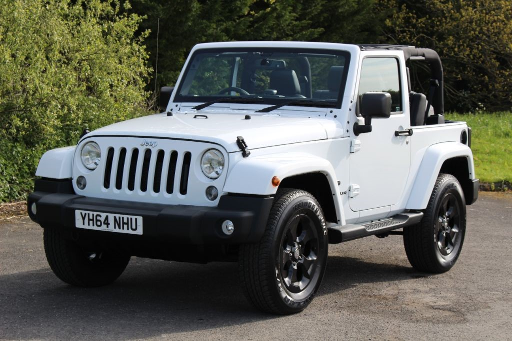used bright white jeep wrangler for sale hampshire. Black Bedroom Furniture Sets. Home Design Ideas
