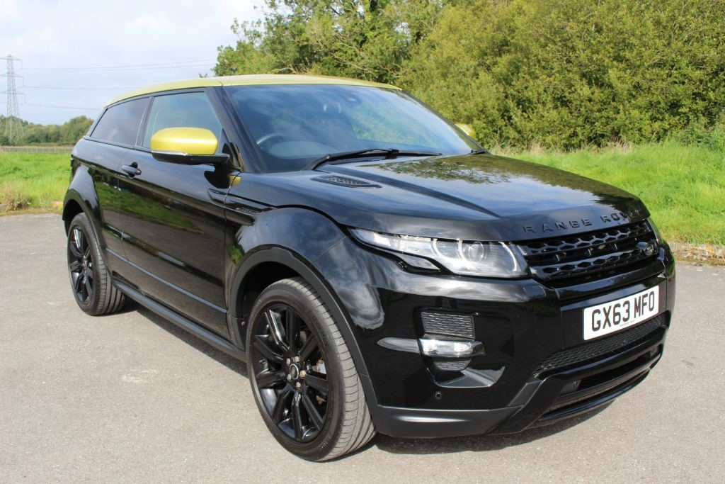 used Land Rover Range Rover Evoque 2.2 SD4 SPECIAL EDITION (SAT NAV) in Hampshire
