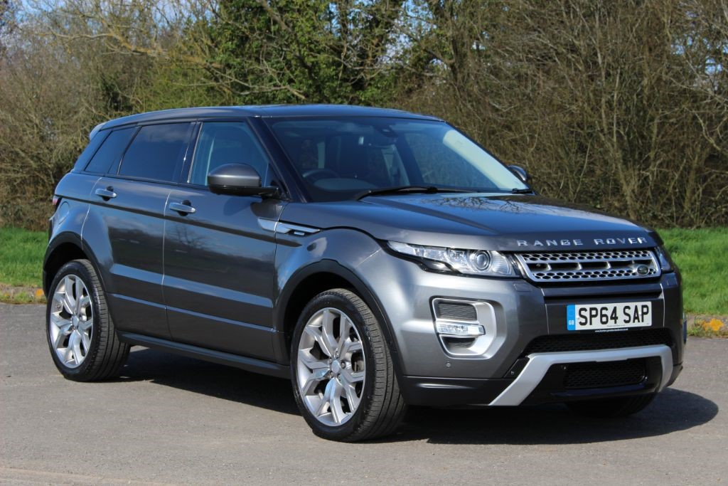 used Land Rover Range Rover Evoque 2.2 SD4 AUTOBIOGRAPHY (Sat Nav) in Hampshire
