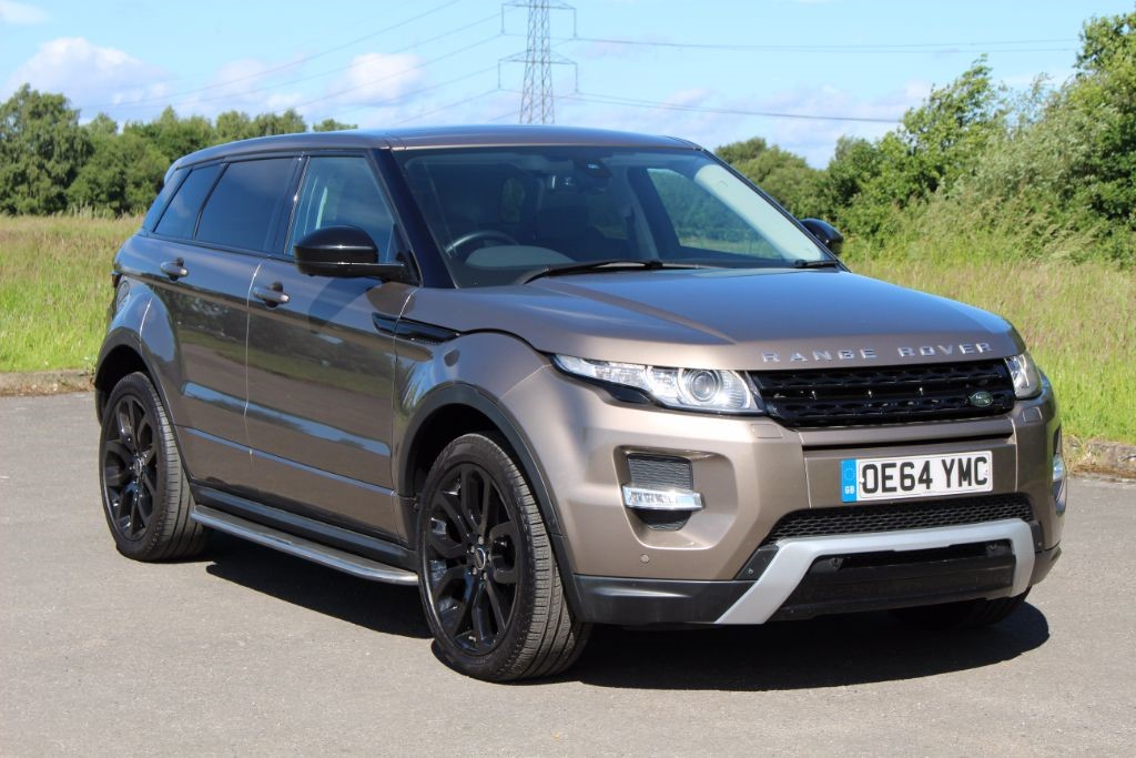 used Land Rover Range Rover Evoque 2.2 SD4 DYNAMIC LUX (Sat Nav) in Hampshire