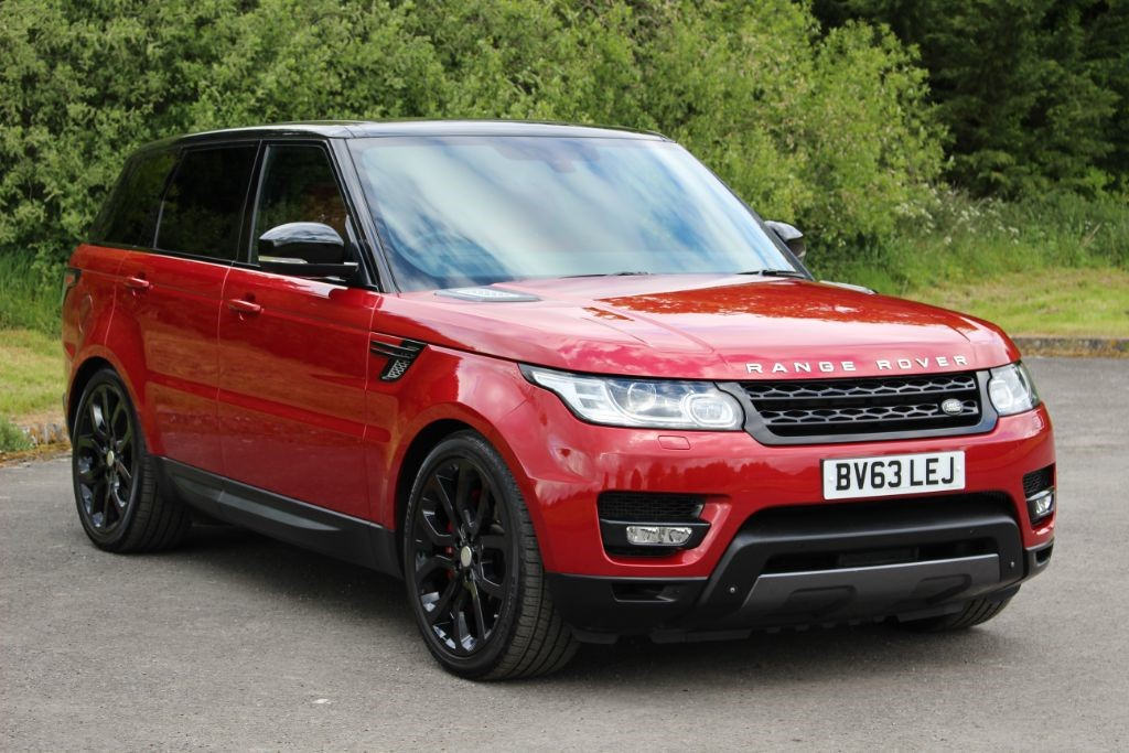 used Land Rover Range Rover Sport 3.0 SDV6 HSE DYNAMIC (Sat Nav) in Hampshire