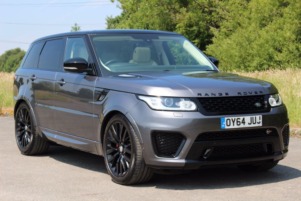 used Land Rover Range Rover Sport 4.4 AUTOBIOGRAPHY DYNAMIC SVR STYLING (Sat Nav) in Hampshire