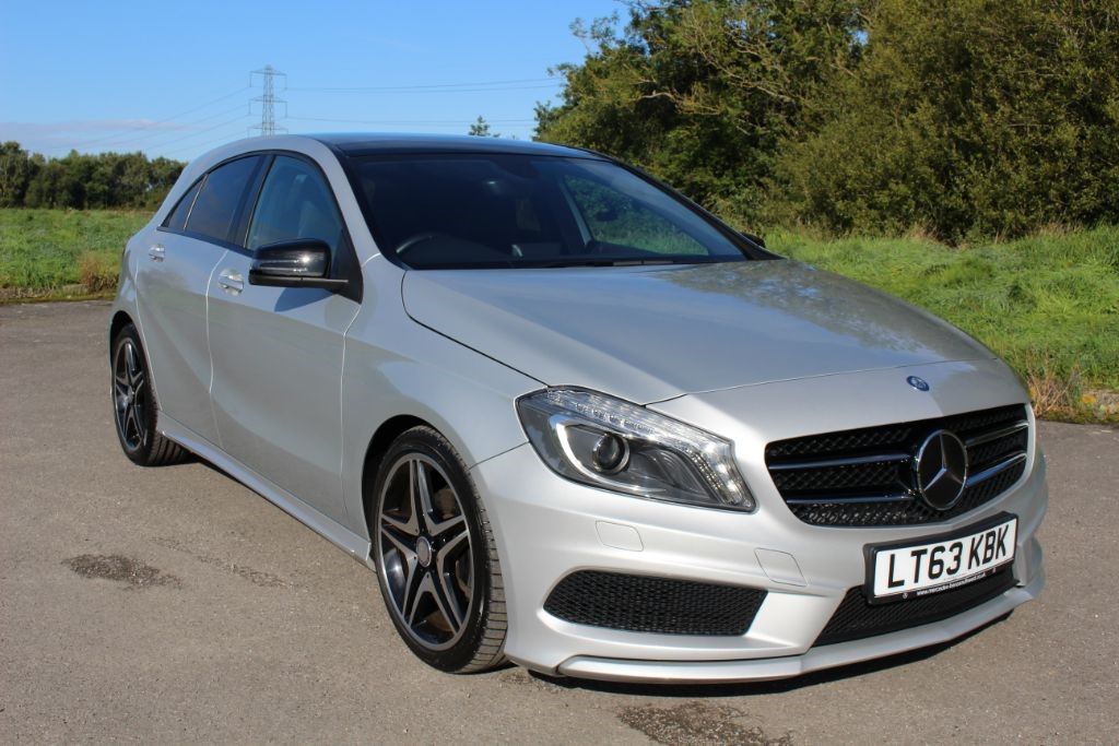 used Mercedes A200 CDI BLUEEFFICIENCY AMG SPORT (SAT NAV) in Hampshire