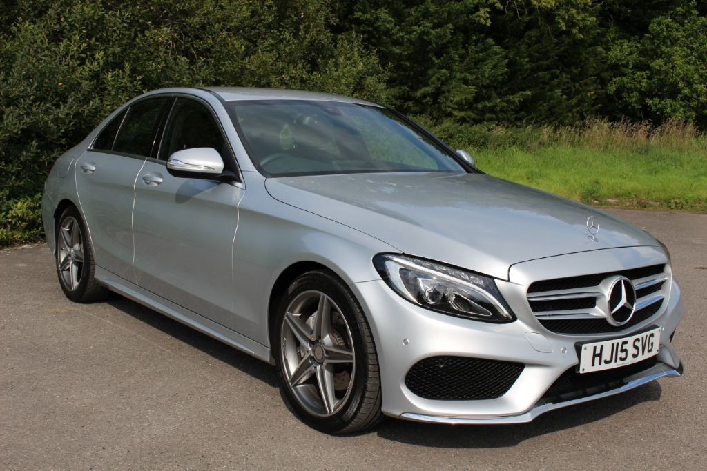 used Mercedes C220 2.1 BLUETEC AMG LINE  in Hampshire