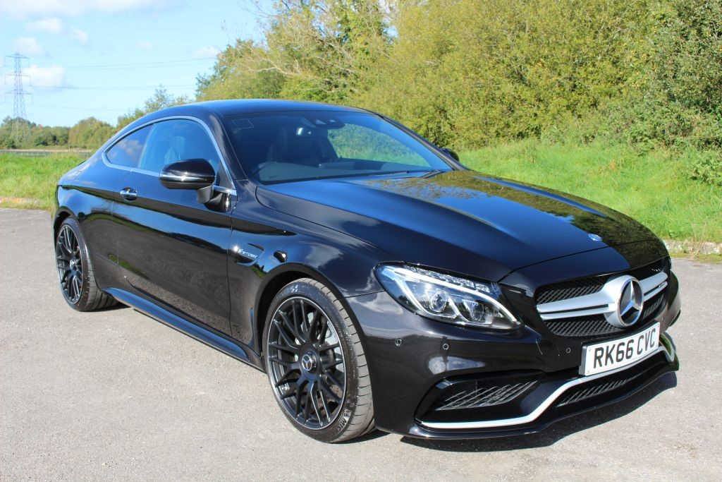 used Mercedes C63 AMG 4.0 BI-Turbo PREMIUM PACK COUPE (SAT NAV) in Hampshire