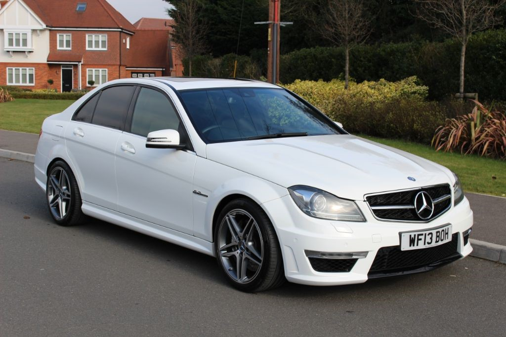 used Mercedes C63 AMG Auto Saloon (Sat Nav) in Hampshire