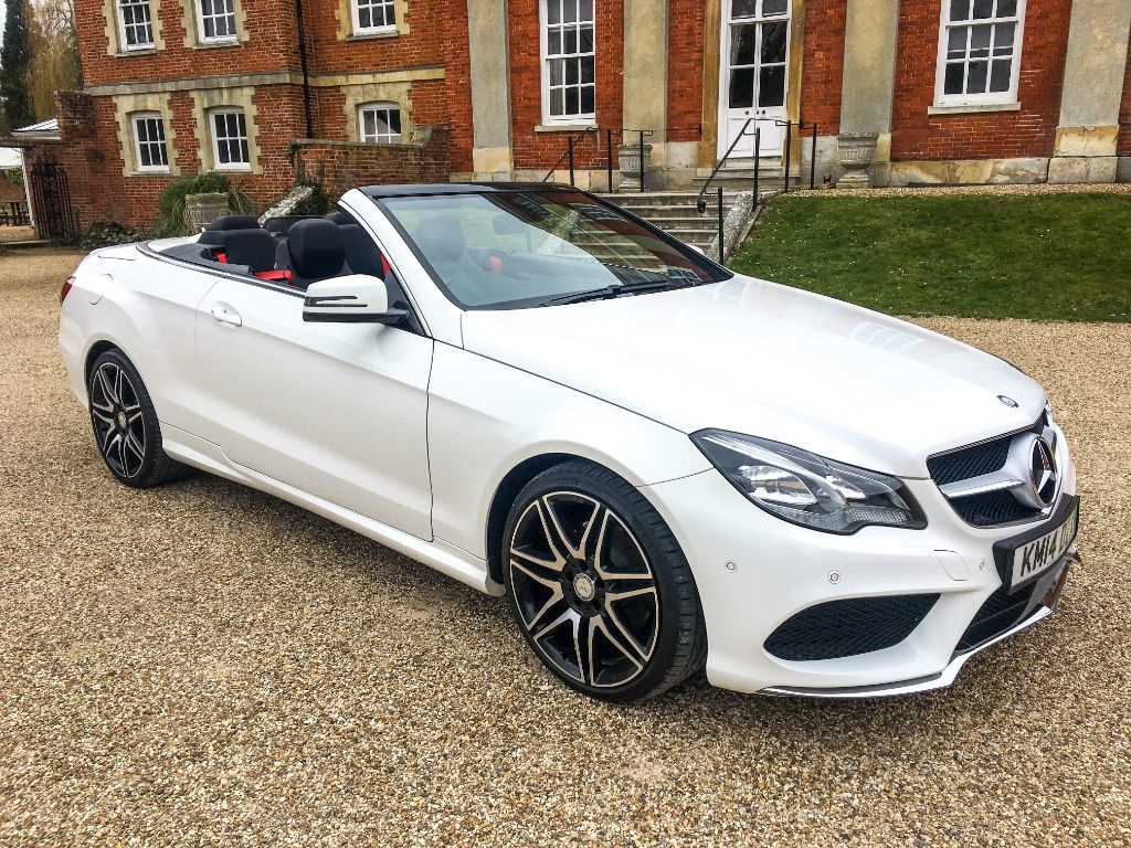 used Mercedes E250 CDI AMG SPORT PLUS (SAT NAV) in Hampshire