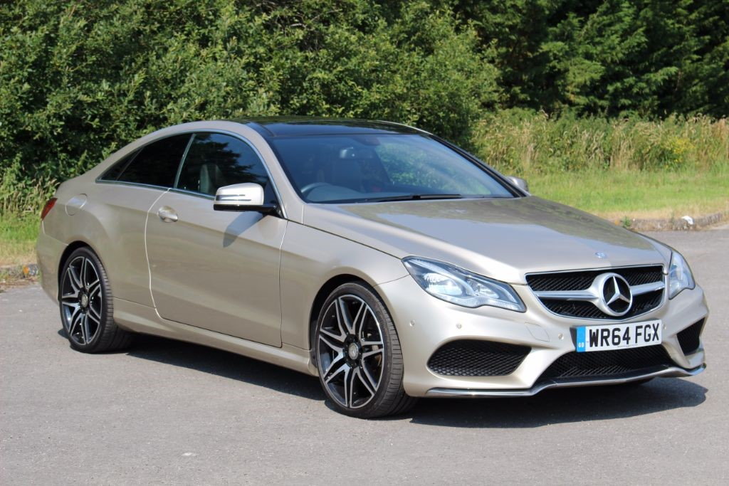 used Mercedes E250 2.1 CDI AMG LINE (Sat Nav) in Hampshire