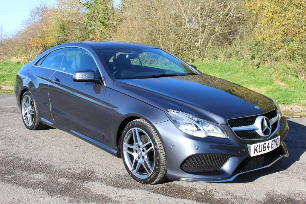 used Mercedes E250 CDI AMG SPORT COUPE AUTO (SAT NAV) in Hampshire