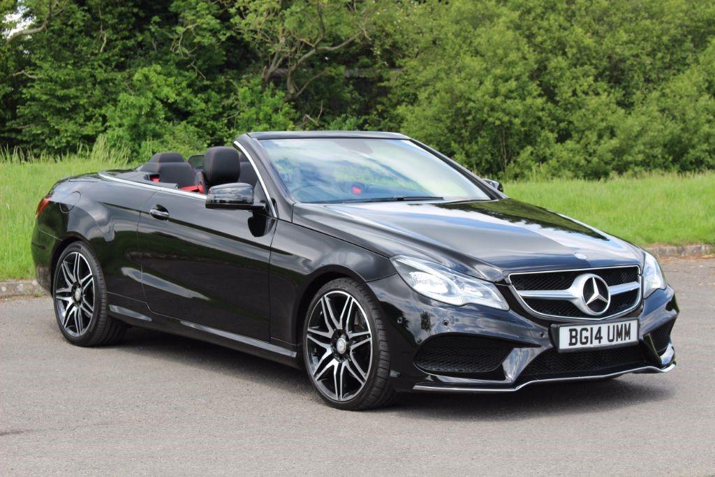 used Mercedes E350 3.0 BLUETEC AMG SPORT (Sat Nav) in Hampshire