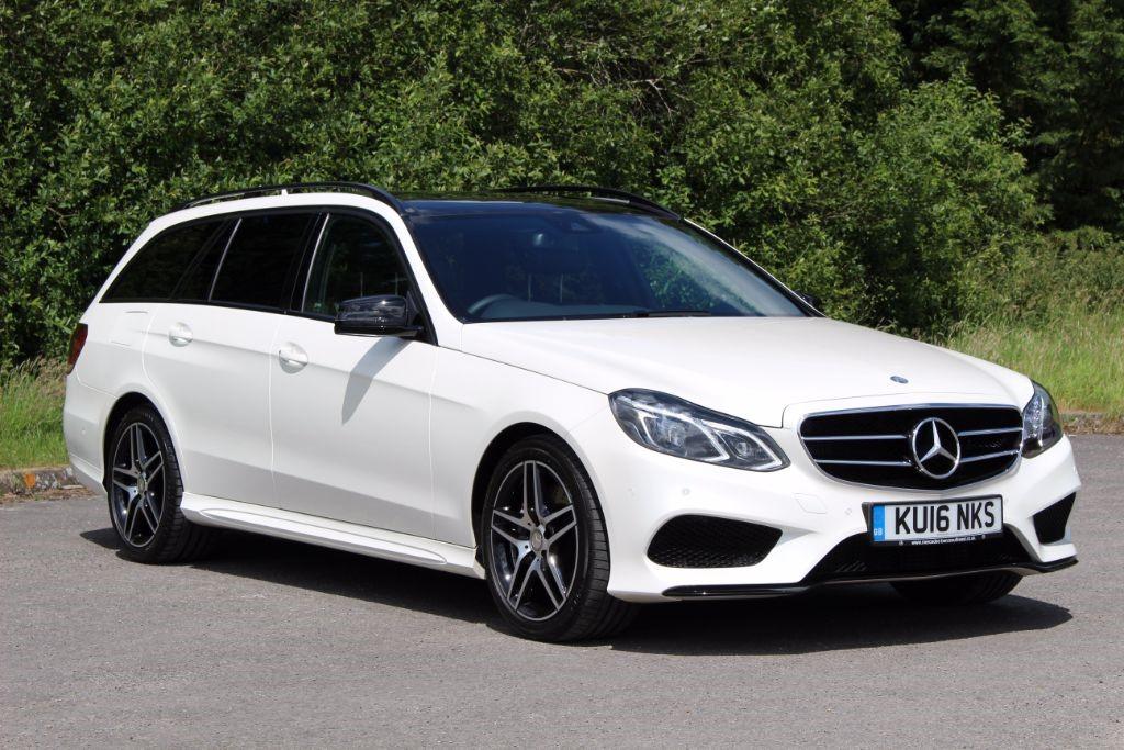 used Mercedes E350 3.0 BLUETEC AMG NIGHT EDITION PREMIUM (Sat Nav) in Hampshire