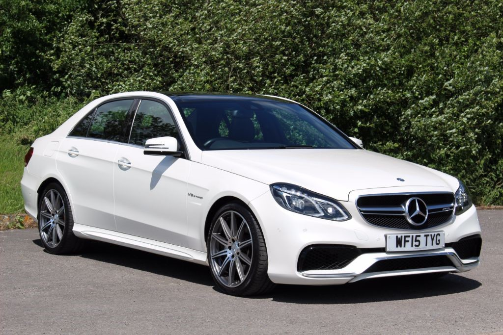 used Mercedes E63 AMG 5.5 AMG (Sat Nav) in Hampshire