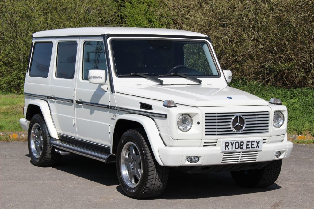 used Mercedes G Class G55 AMG LHD Auto (Sat Nav) in Hampshire