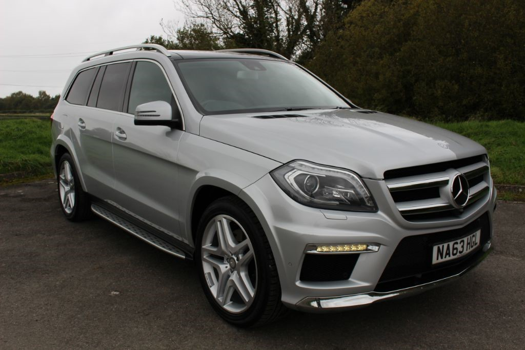 used Mercedes GL350 CDI BLUETEC AMG SPORT (SAT NAV) in Hampshire
