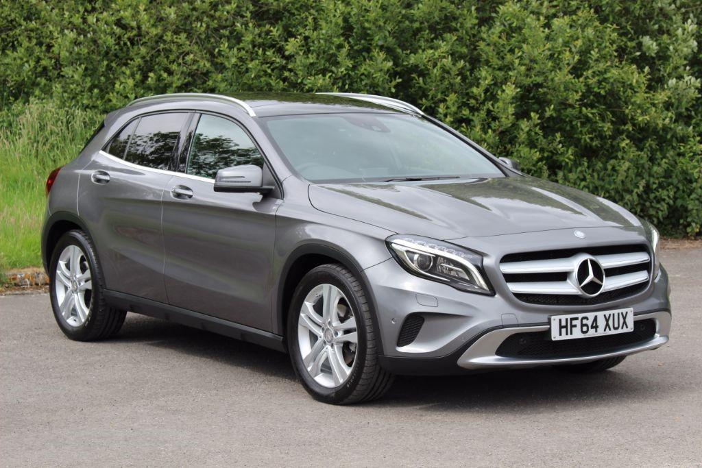 used Mercedes GLA220 2.1 CDI 4MATIC SE PREMIUM PLUS (Sat Nav) in Hampshire