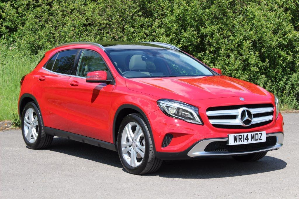 used Mercedes GLA250 2.0I 4MATIC SE PREMIUM PLUS (Sat Nav) in Hampshire