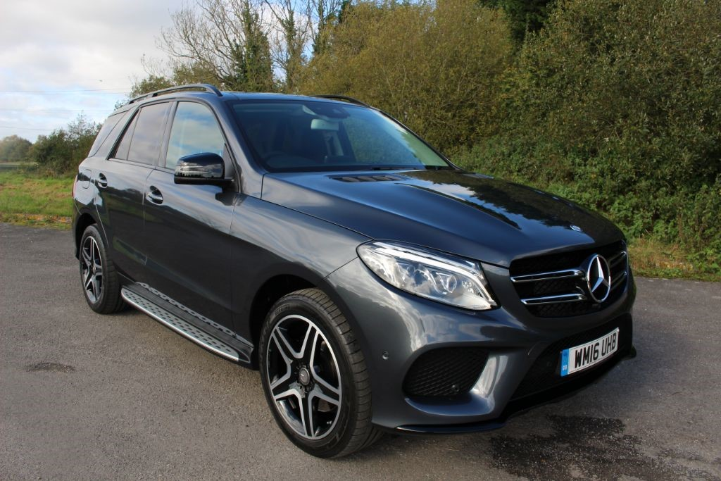 used Mercedes GLE250 CDI 4MATIC AMG LINE PREMIUM (SAT NAV) in Hampshire