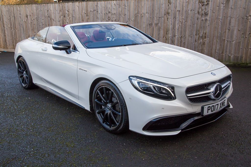 used Mercedes S63 AMG 5.5 CABRIOLET (SAT NAV) in Hampshire