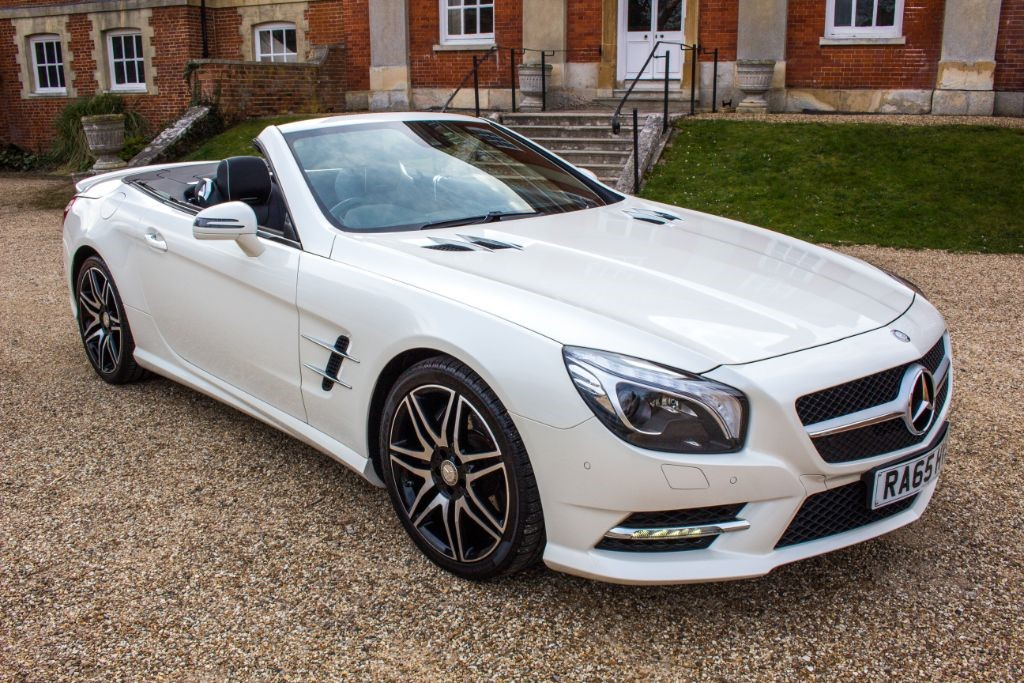 used Mercedes SL 500 AMG SPORT 7G AUTO (SAT NAV) in Hampshire
