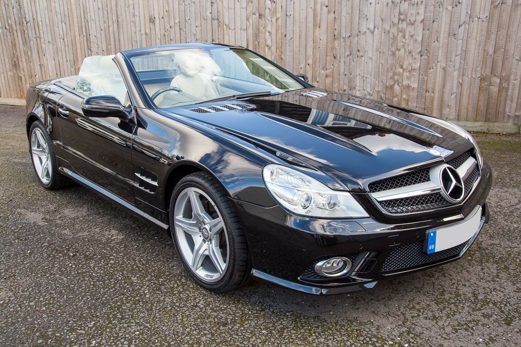 used Mercedes SL500 5.5 7G AUTO (SAT NAV) in Hampshire