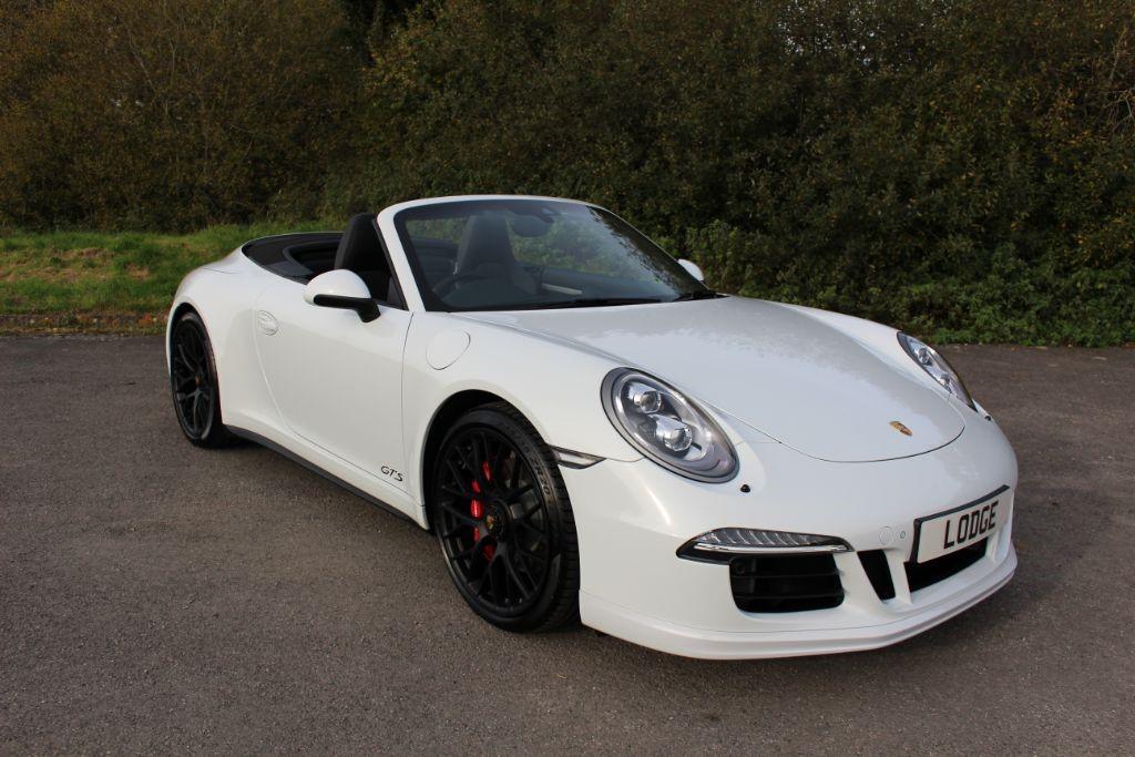 used Porsche 911 991 CARRERA 4 GTS 3.8 convertible PDK (SAT NAV) in Hampshire