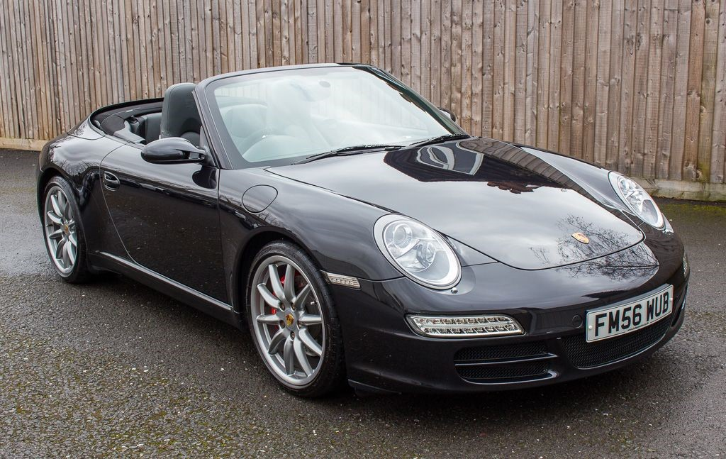 used Porsche 911 997 CARRERA 2 S 6 SPEED CABRIOLET X51 PACK in Hampshire