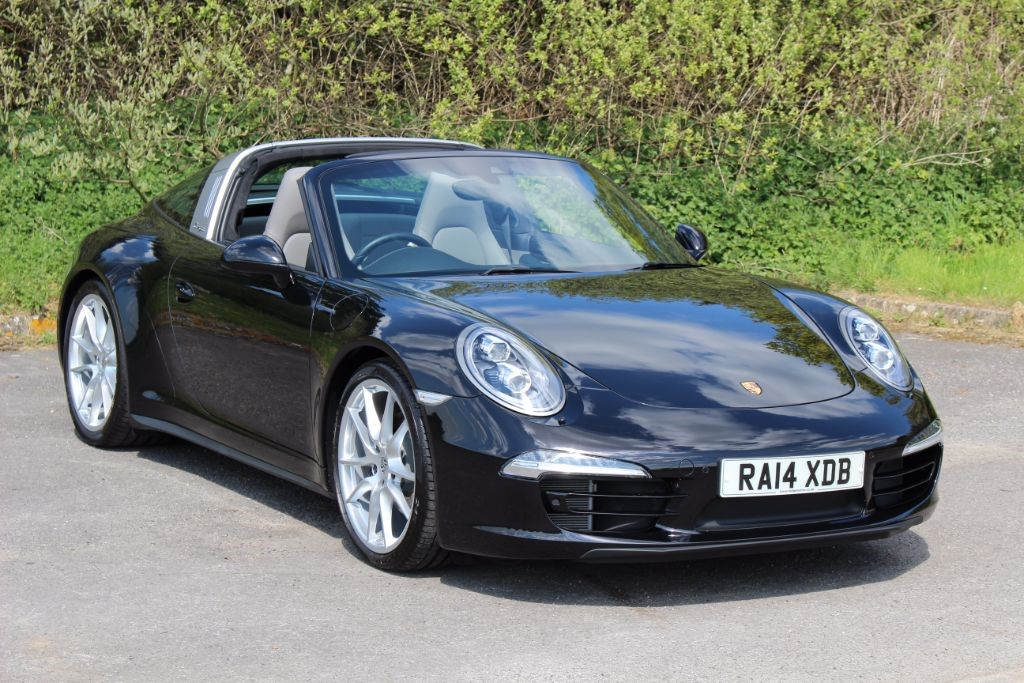 used Porsche 911 991 TARGA 4 PDK (Sat Nav)  in Hampshire