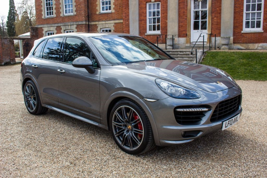 used Porsche Cayenne 4.8 V8 TURBO TIPTRONIC S (SAT NAV) in Hampshire