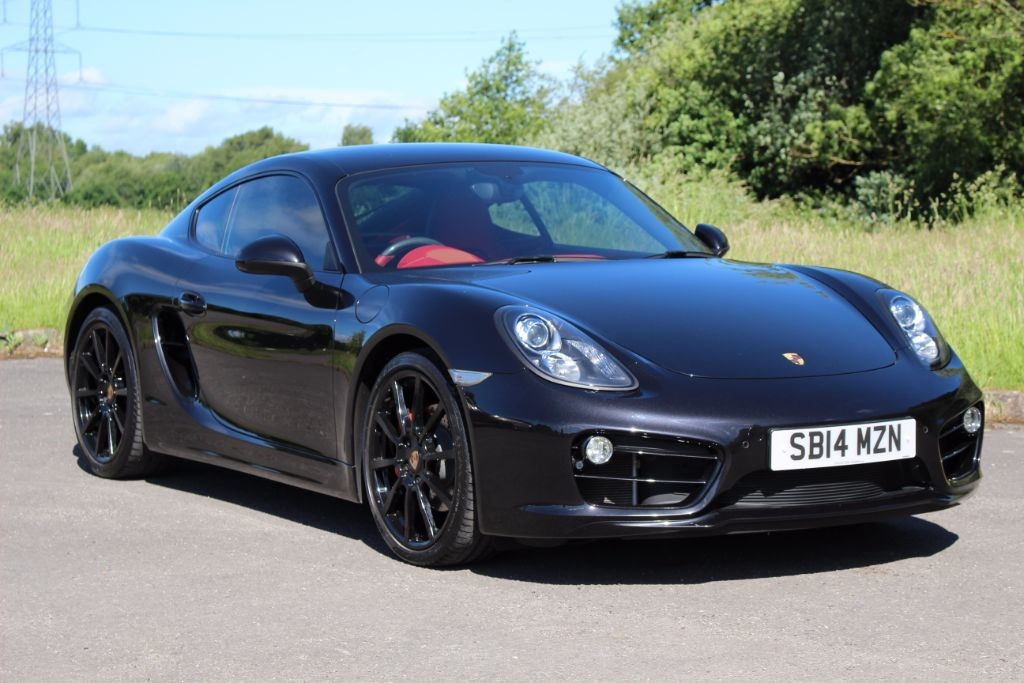 used Porsche Cayman 3.4 S PDK Coupe (Sat Nav) in Hampshire