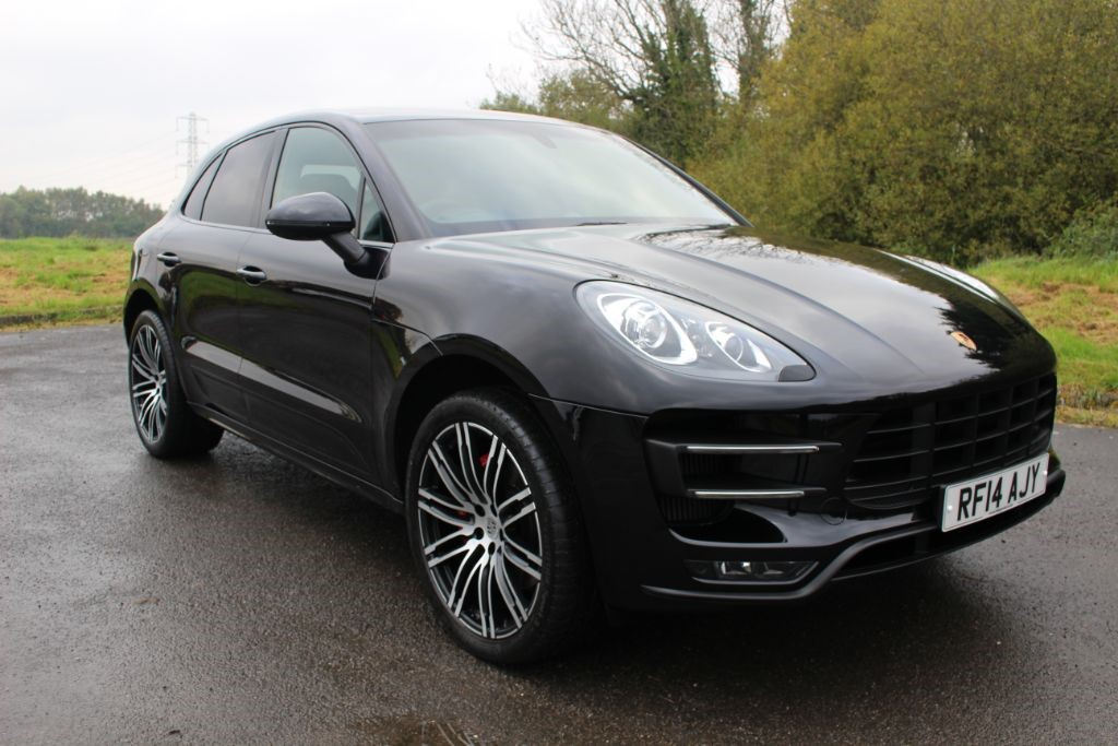 used Porsche Macan 3.6 TURBO PDK (SAT NAV) in Hampshire