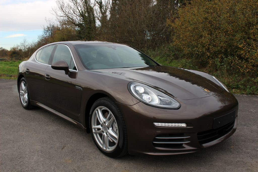 used Porsche Panamera 3.0V6 4S PDK (SAT NAV) VAT QUALIFYING in Hampshire