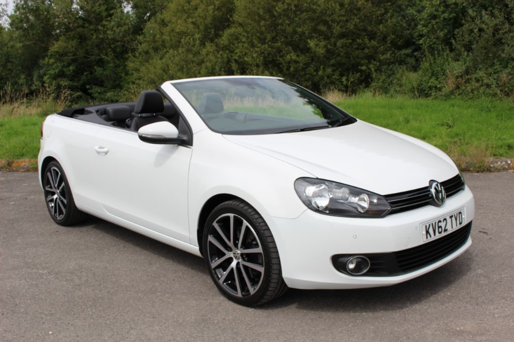 used VW Golf 2.0 GT TDI BLUEMOTION TECHNOLOGY DSG CONVERTIBLE in Hampshire