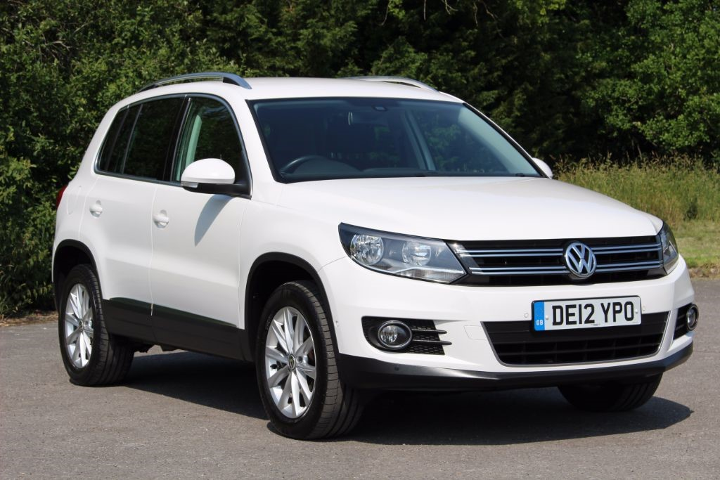 used VW Tiguan 2.0 SE TDI BLUEMOTION TECHNOLOGY in Hampshire