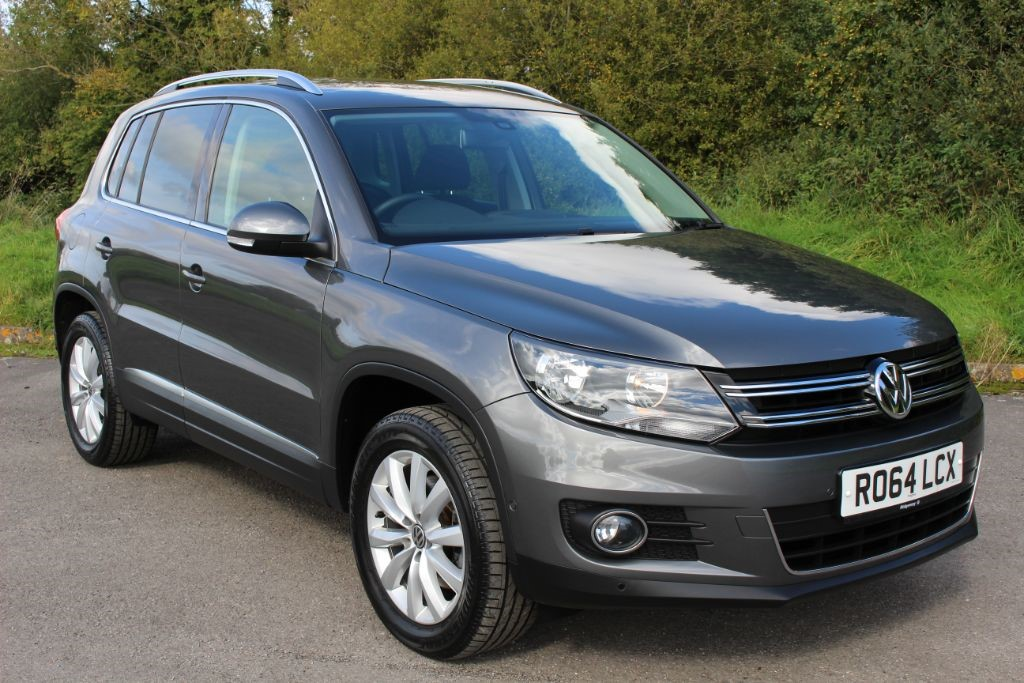 used VW Tiguan 2.0TDI MATCH BLUEMOTION TECHNOLOGY 4MOTION (Sat Nav) in Hampshire