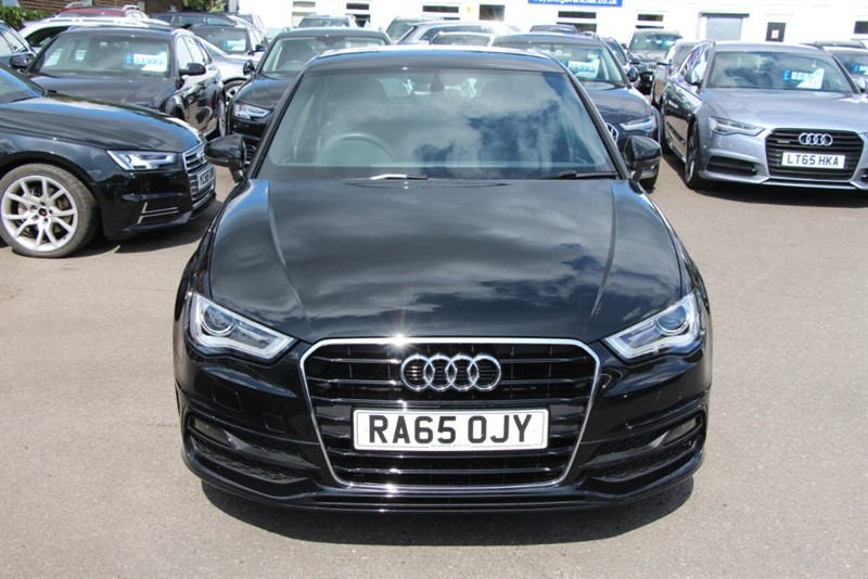 used Audi A3 T FSi S Line (NAV) [150] (JUST 14500 MILES FROM NEW!!) in west-byfleet-surrey