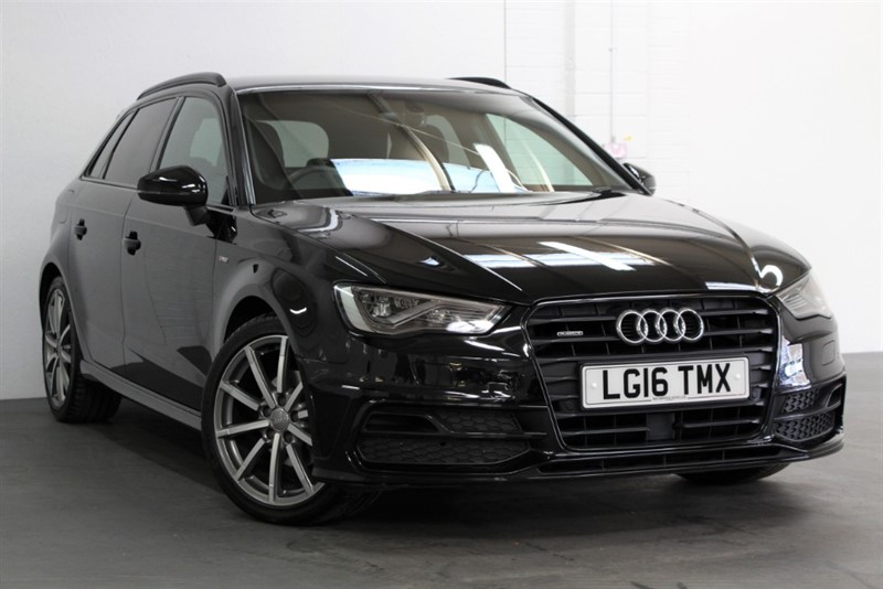 used Audi A3 Tdi Quattro S Line [150] (FREE MAINLAND UK DELIVERY !!) in west-byfleet-surrey