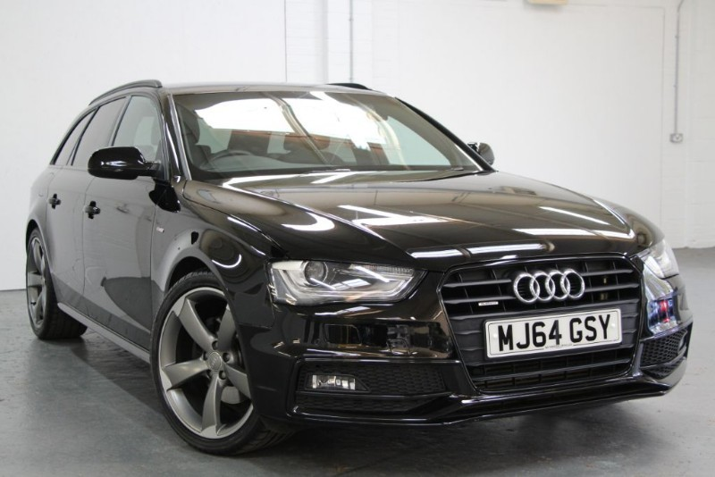 used Audi A4 Avant Tdi Quattro S Line Black Edition Plus [177] (STUNNING CAR !!) in west-byfleet-surrey