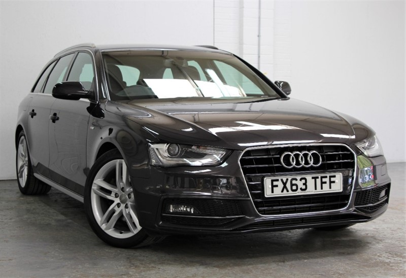 used Audi A4 Avant Tdi S Line [150] (SAT NAV+ !! 2014 MODEL !!) in west-byfleet-surrey