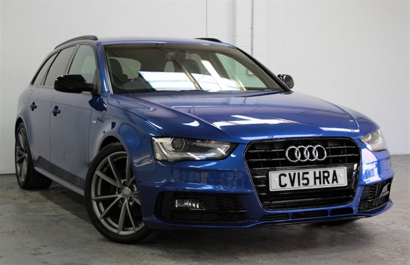 used Audi A4 Avant Tdi Black Edition Plus [150] (OUTSTANDING CAR !!) in west-byfleet-surrey