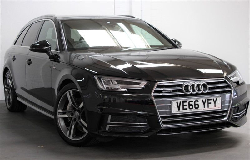 used Audi A4 Avant Tdi Quattro S Line [190] (FREE MAINLAND UK DELIVERY !!) in west-byfleet-surrey