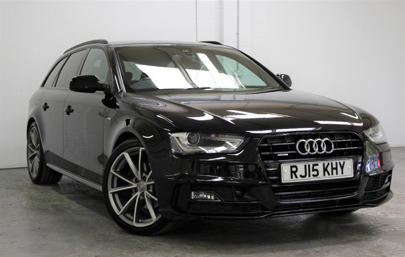 used Audi A4 Avant Tdi Quattro Black Edition Plus [177] (RARE CAR !! HUGE SPEC !!) in west-byfleet-surrey