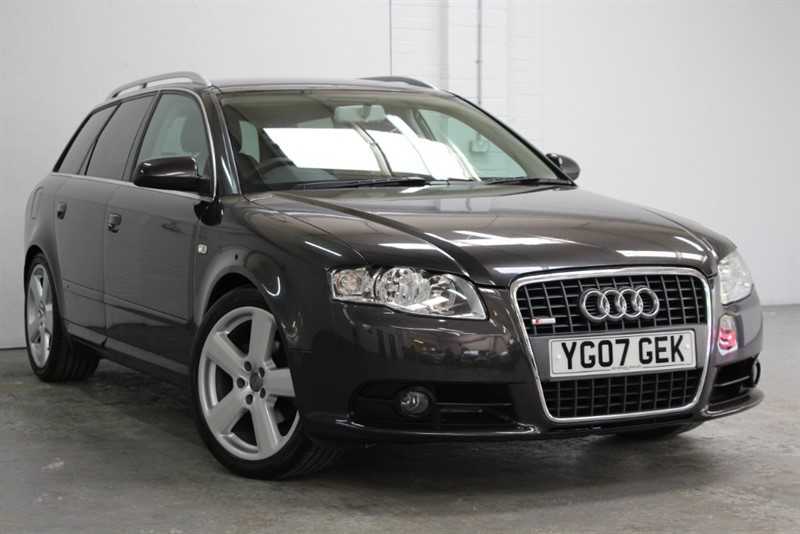 used Audi A4 Avant Tdi S Line [140] (JUST 47000 MILES FROM NEW !!) in west-byfleet-surrey