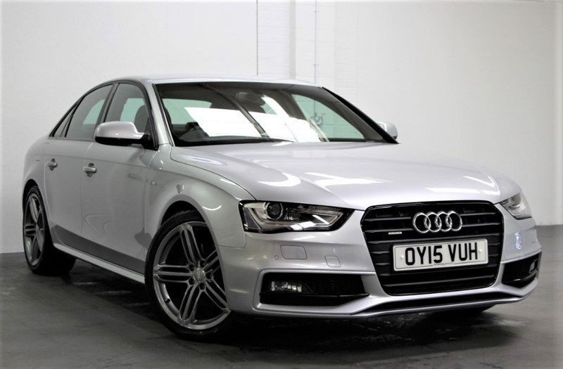 used Audi A4 Tdi Quattro Black Edition [245] (FREE MAINLAND UK DELIVERY !!) in west-byfleet-surrey