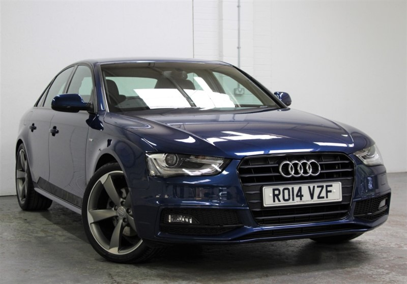 used Audi A4 T FSi Black Edition [170] (RARE PETROL !! GREAT SPEC !!) in west-byfleet-surrey