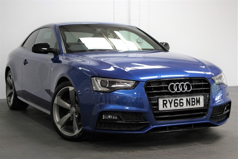 used Audi A5 Tdi Black Edition Plus [190] (FREE MAINLAND UK DELIVERY !!) in west-byfleet-surrey