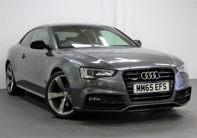 used Audi A5 T FSi Quattro Black Edition Plus [225] (RARE PETROL QUATTRO !!) in west-byfleet-surrey