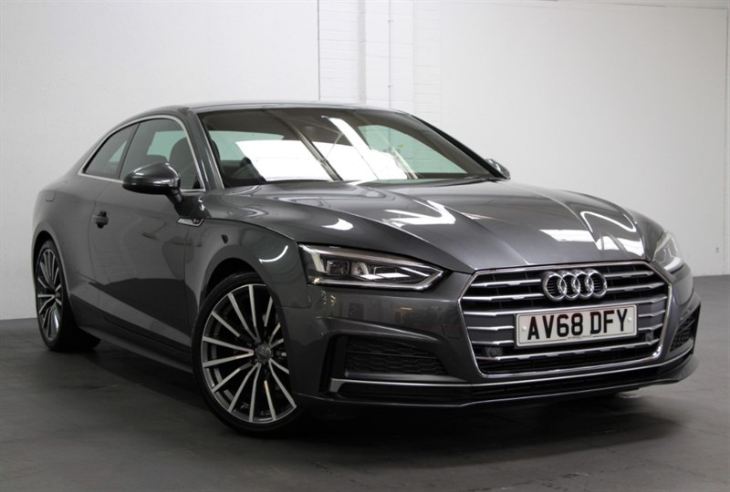 used Audi A5 T FSi S Line [190] (FREE MAINLAND UK DELIVERY !!) in west-byfleet-surrey
