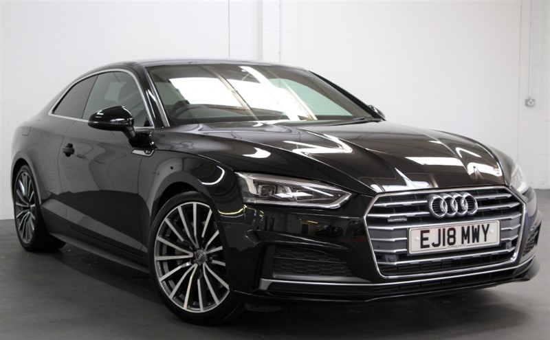 used Audi A5 T FSi Quattro S Line [252] (HUGE SPEC, RARE CAR, TECH PACK !!) in west-byfleet-surrey