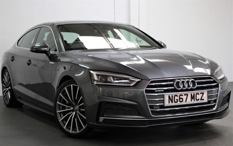 used Audi A5 T FSi Quattro S Line [252] (TECH PACK, VIRTUAL COCKPIT !!) in west-byfleet-surrey